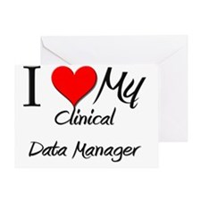 Clinical-Data-Manage52 Greeting Card