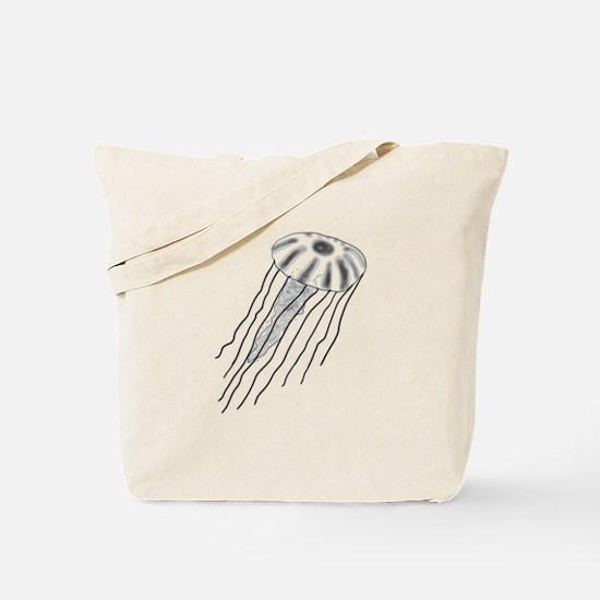Jellyfish Sketch Tote Bag