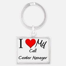 Call-Center-Manager15 Landscape Keychain