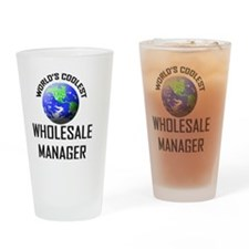 WHOLESALE-MANAGER26 Drinking Glass