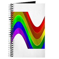 RAINBOW METALLIC WAVE Journal
