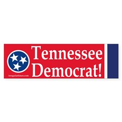 Tennessee Democrat (Bumper Sticker)