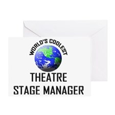 THEATRE-STAGE-MANAGE119 Greeting Card