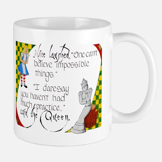 Alice and the White Queen Mug