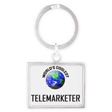 TELEMARKETER62 Landscape Keychain