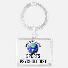 SPORTS-PSYCHOLOGIST107 Landscape Keychain