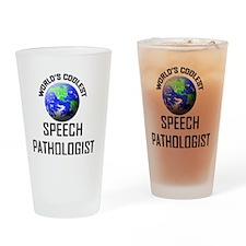 SPEECH-PATHOLOGIST73 Drinking Glass