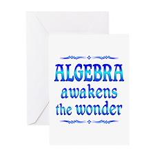 Algebra Awakens Greeting Card