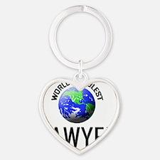 SAWYER19 Heart Keychain