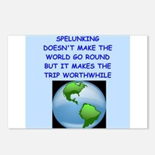 spelunking Postcards (Package of 8)