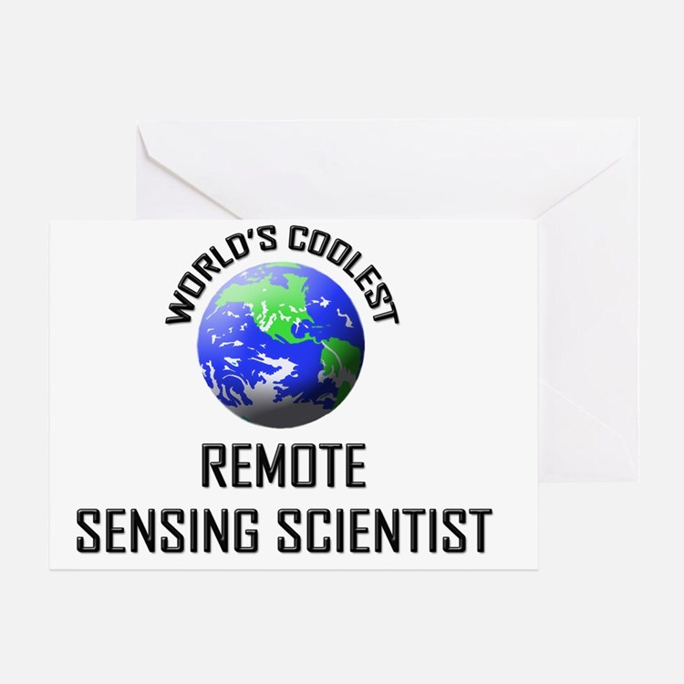 REMOTE-SENSING-SCIEN138 Greeting Card