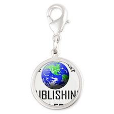 PUBLISHING-COPY-EDIT118 Silver Round Charm
