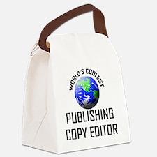 PUBLISHING-COPY-EDIT118 Canvas Lunch Bag