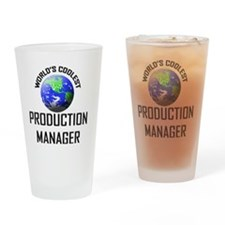 PRODUCTION-MANAGER75 Drinking Glass