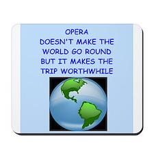 opera Mousepad