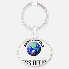 PRESS-OFFICER73 Oval Keychain