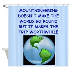 mountaineer Shower Curtain
