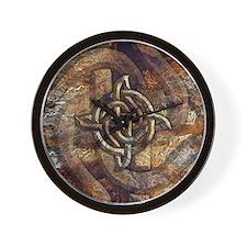 Celtic Rock Knot Wall Clock