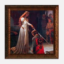 """The Accolade"" Tile Coaster"