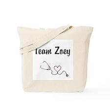 Team Zoey Tote Bag