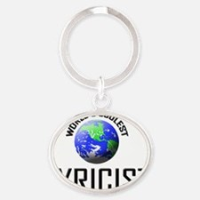 LYRICIST118 Oval Keychain