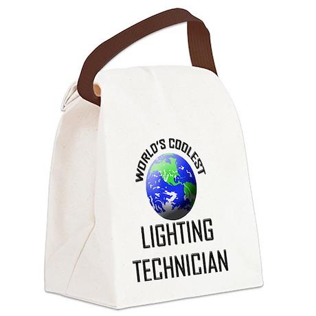 LIGHTING-TECHNICIAN84 Canvas Lunch Bag