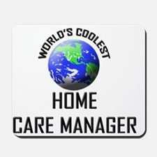 HOME-CARE-MANAGER125 Mousepad