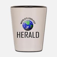 HERALD147 Shot Glass