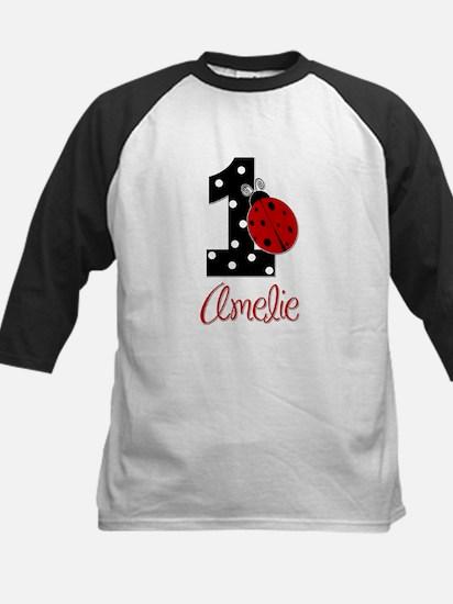 1_ladybug_birthdaygirl_AMELIE2 Baseball Jersey