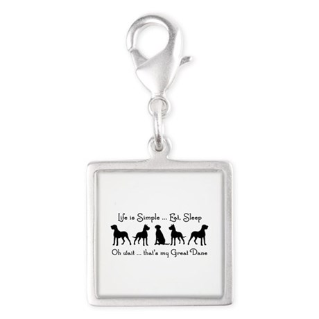 Life is Simple For Great Dane Dog Pet Humorous Cha