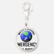 EMERGENCY-ROOM-DOCTO9 Silver Round Charm