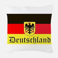 Deutschland Woven Throw Pillow
