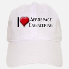 I Love (Heart) Aerospace Engi Baseball Baseball Cap