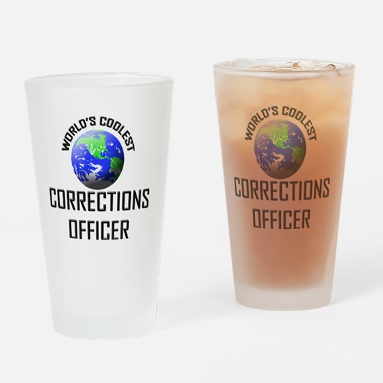 CORRECTIONS-OFFICER61 Drinking Glass