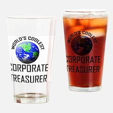 CORPORATE-TREASURER48 Drinking Glass