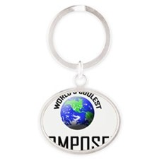 COMPOSER9 Oval Keychain