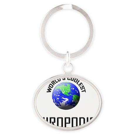 CHIROPODIST146 Oval Keychain