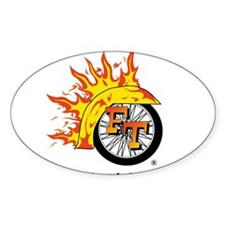 Full Throttle Oval Decal