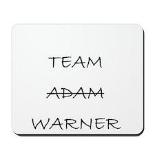 Team Adam Warner Mousepad