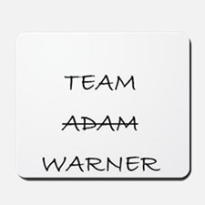 Team Adam Warner Mousepad