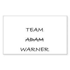 Team Adam Warner Decal
