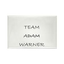 Team Adam Warner Rectangle Magnet