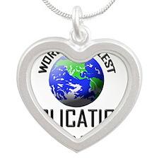 APPLICATIONS-PROGRAM48 Silver Heart Necklace
