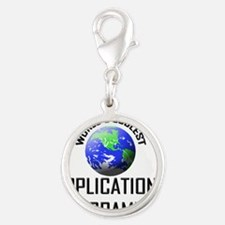 APPLICATIONS-PROGRAM48 Silver Round Charm