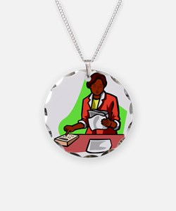 accountant31 Necklace