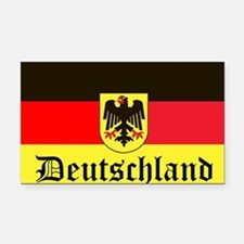 Deutschland Rectangle Car Magnet