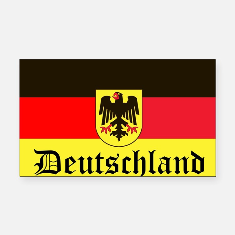 Deutschland Rectangle Car Magnet