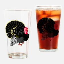 Plump Turkey Drinking Glass