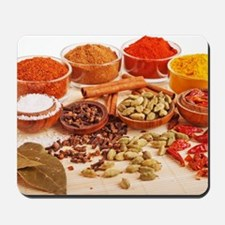 Spices and herbs Mousepad