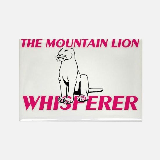 The Mountain Lion Whisperer Magnets